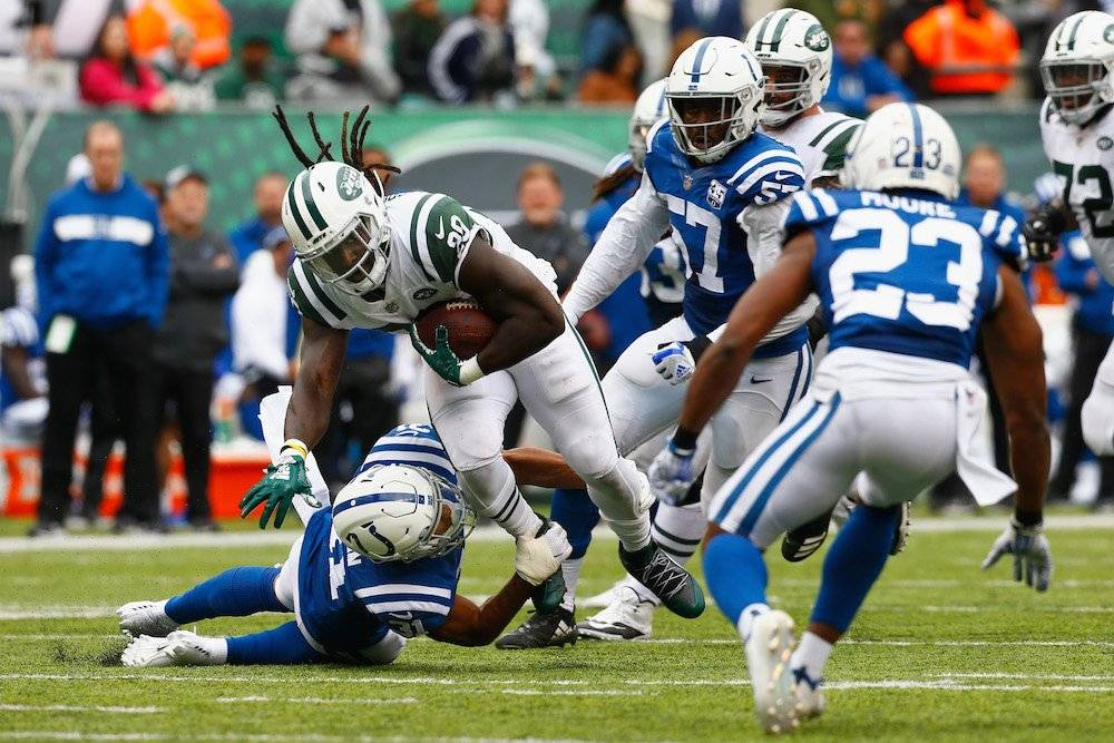 Colts 34-42 Jets / Getty Images