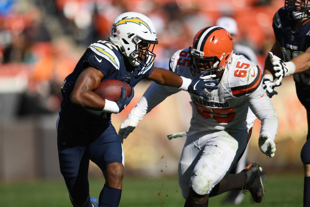 Chargers 38-14 Browns / Getty Images