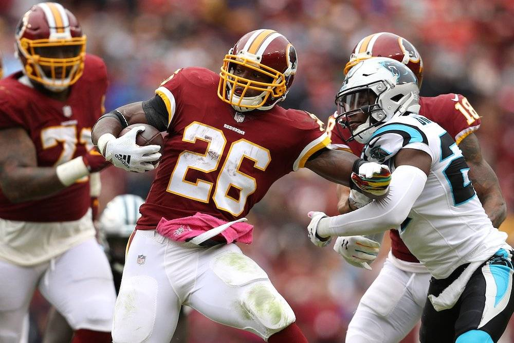 Panthers 17-23 Redskins / Getty Images