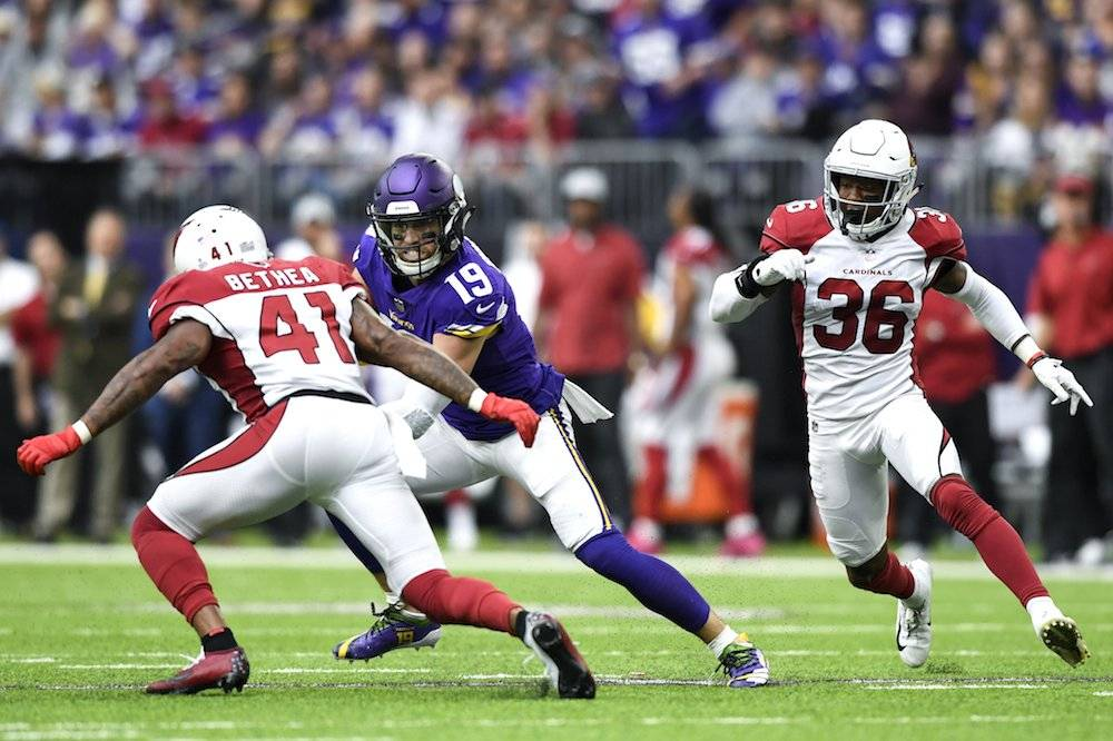 Cardinals 17-27 Vikings / Getty Images