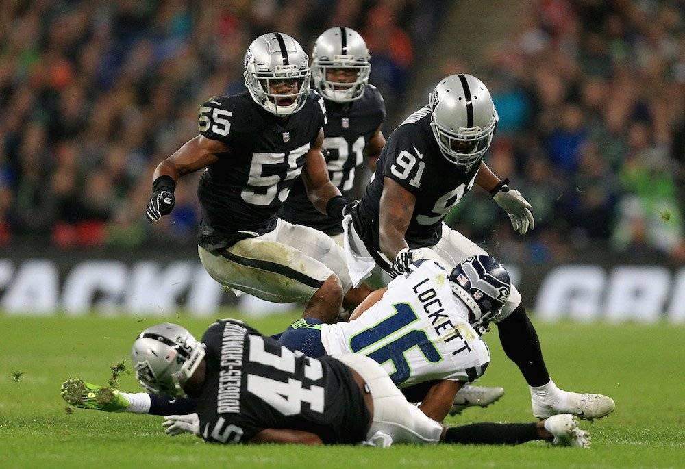 Seahawks 27-3 Raiders / Getty Images