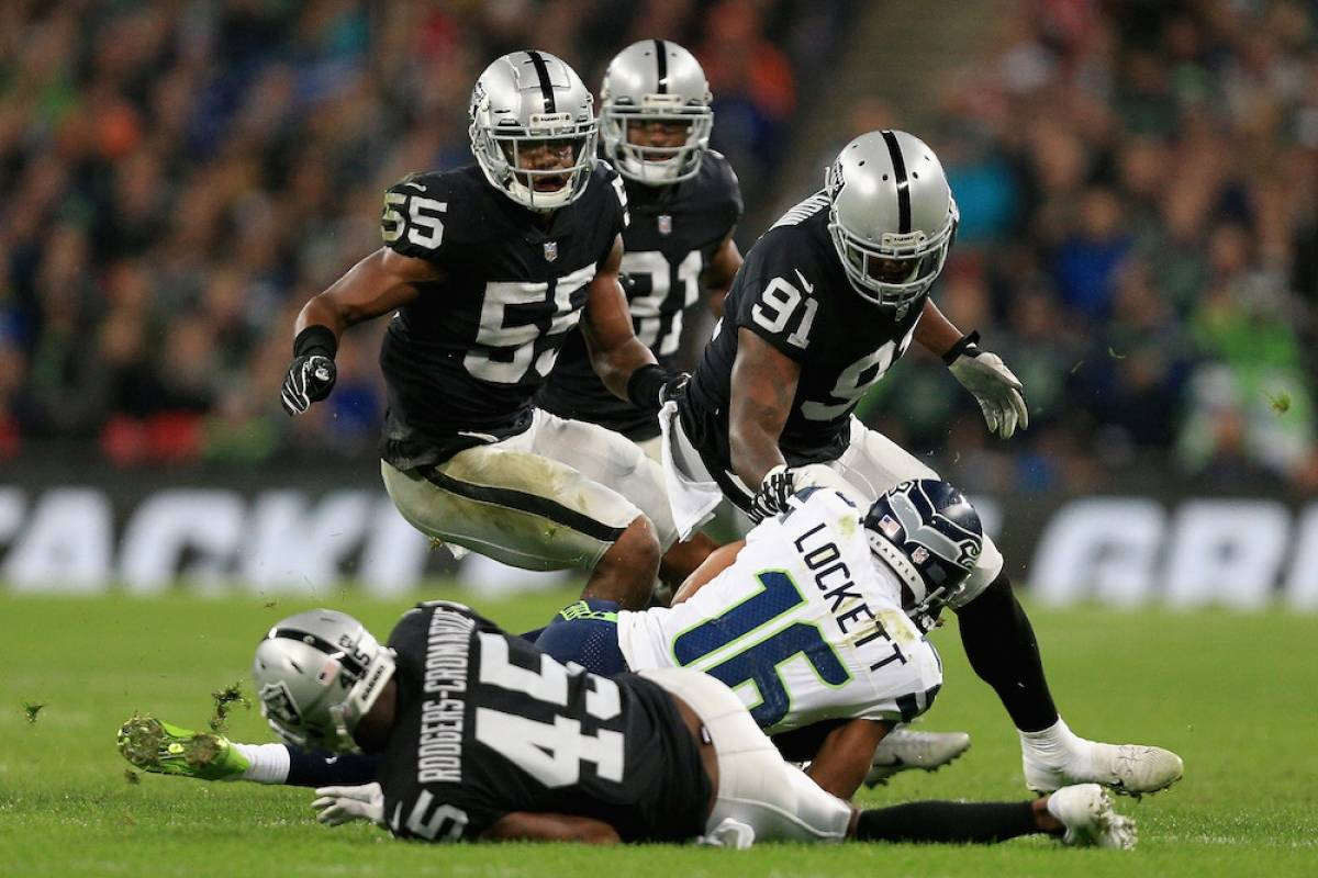 Seahawks 27-3 Raiders / Getty Images
