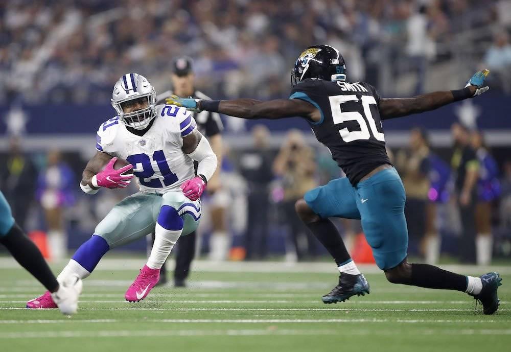Jaguars 7-40 Cowboys / Getty Images