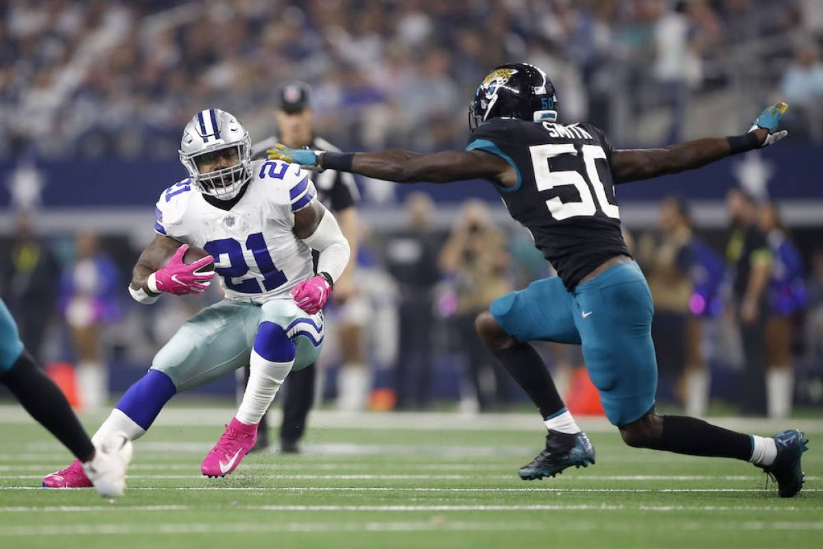 Jaguars 7-40 Cowboys / Getty Images