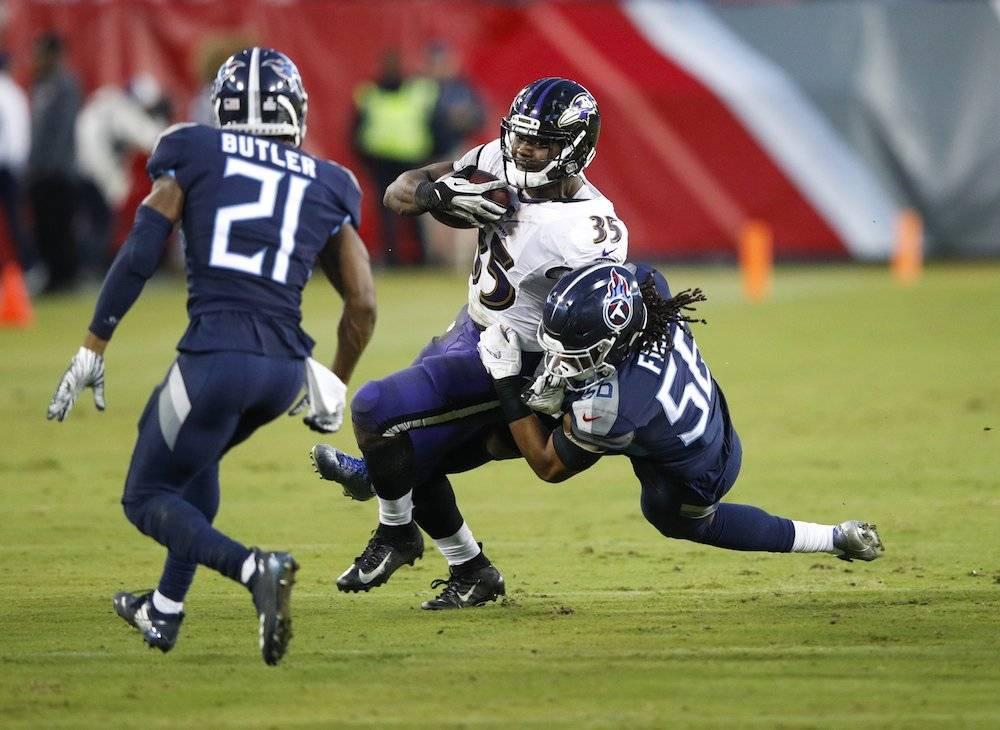 Ravens 21-0 Titans / Getty Images