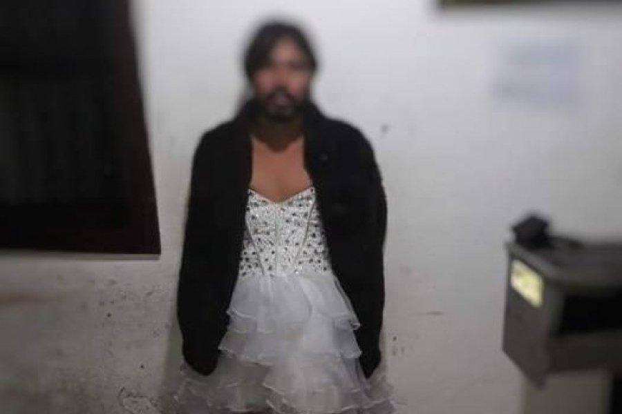 Capturan A Hombre Vestido De Mujer Con Droga Publinews