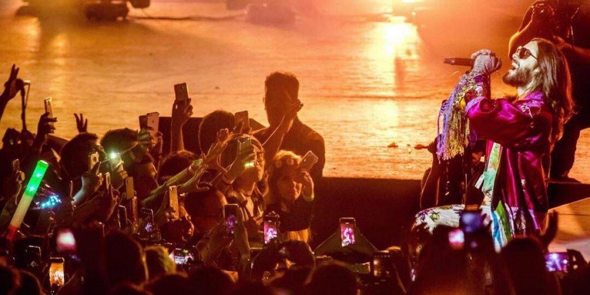 Jared Leto cierra gira en Guadalajara con emotivo mensaje para México