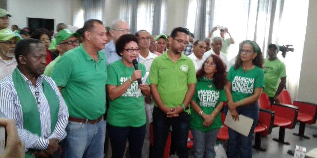 Marcha Verde convoca a firmar 'Compromiso por el Fin de la Impunidad'