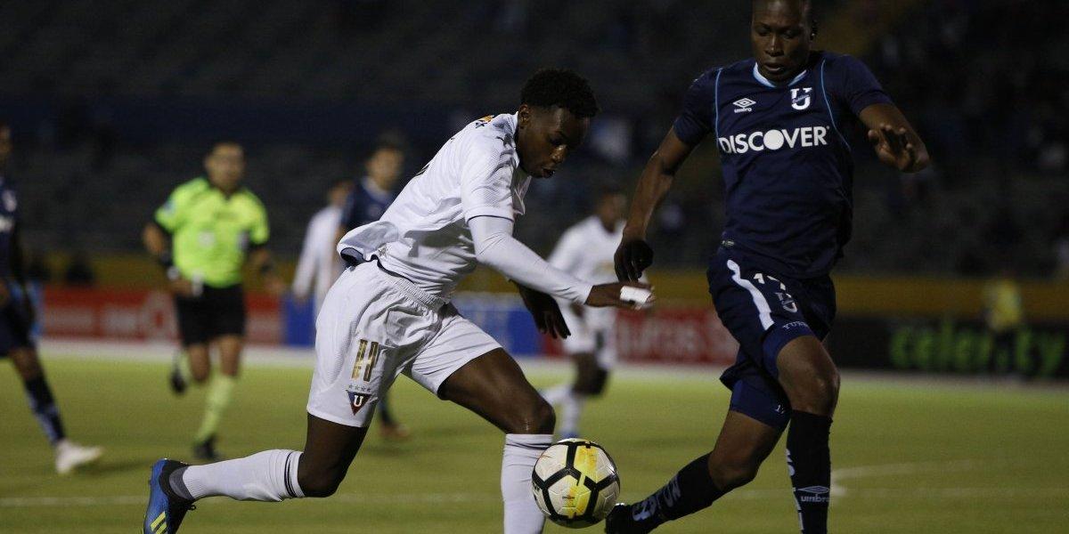 U. Católica vs Liga de Quito: El equipo albo triunfa en agónico partido