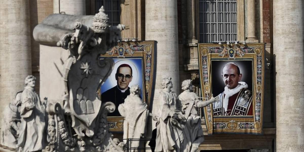 El Papa proclama santo al arzobispo salvadoreño Óscar Romero