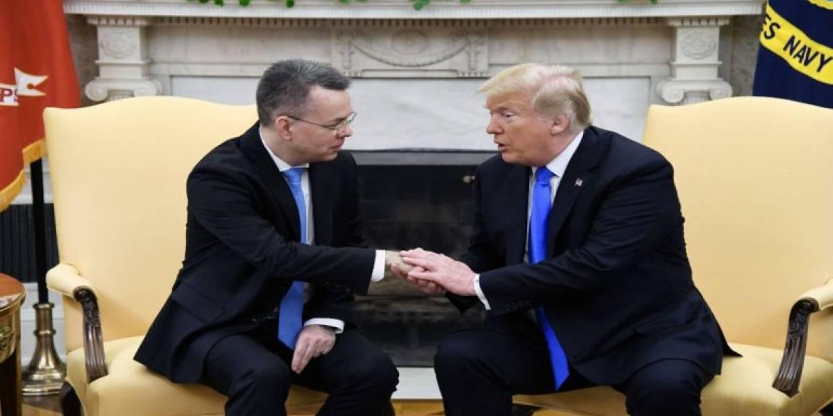 Trump revisará sanciones contra Turquía tras liberación de misionero