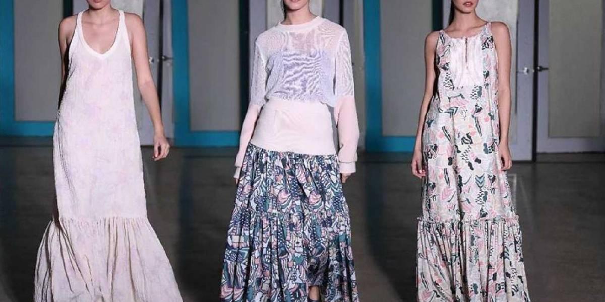 ¡Blancos y metalizados se impusieron durante el inicio del San Juan Moda 2019!