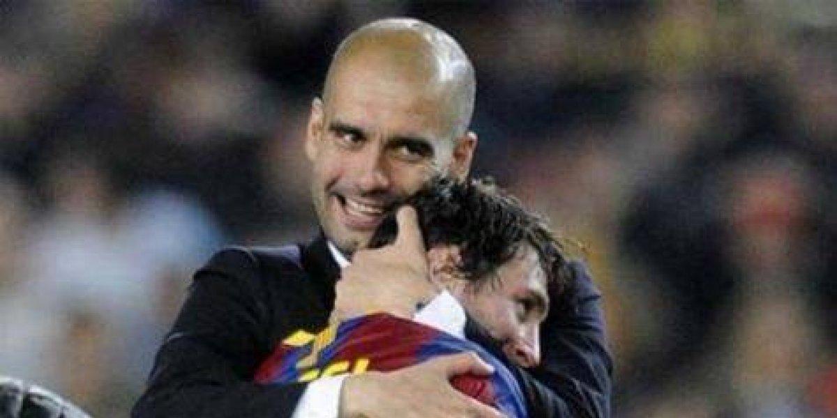 """Pep Guardiola sobre Messi: """"Es un animal competitivo"""""""