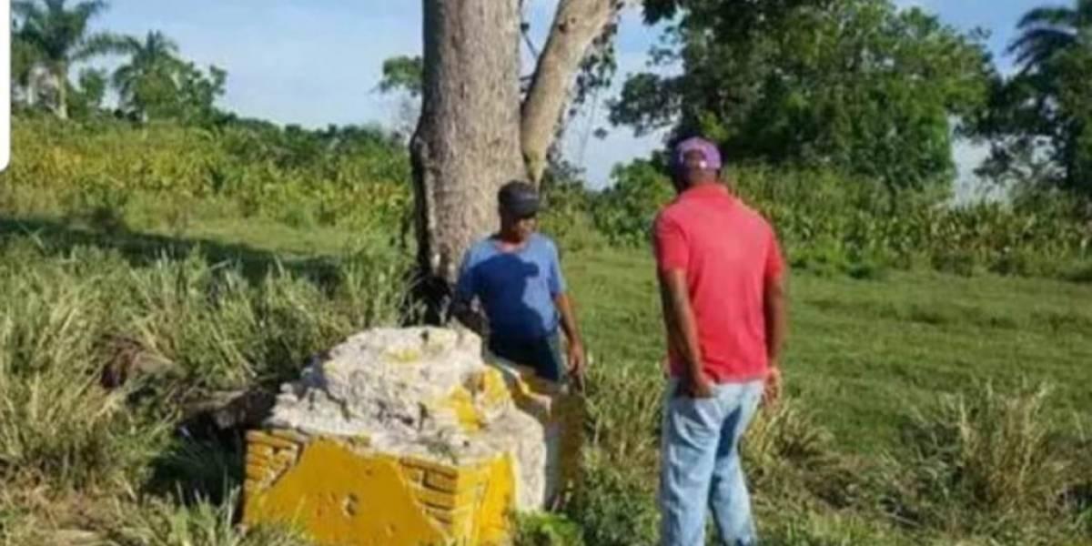 Armada dominicana investiga presunta destrucción de pirámides que dividen RD de Haití