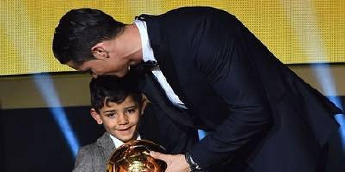 VIDEO: Hijo de CR7 hace doblete con la Juventus infantil
