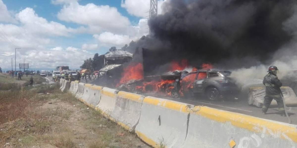 Choque de autobús de pasajeros en la Puebla-Orizaba deja un muerto y 15 heridos