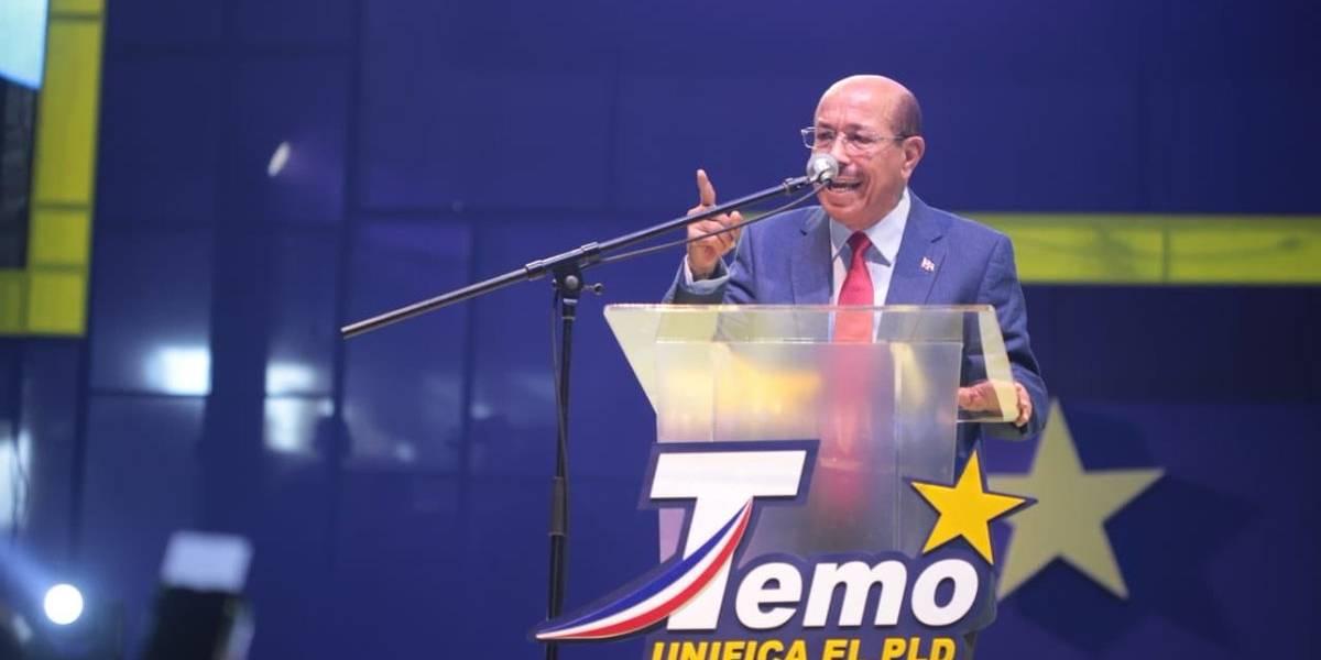 Temístocles Montás lanza precandidatura por el PLD