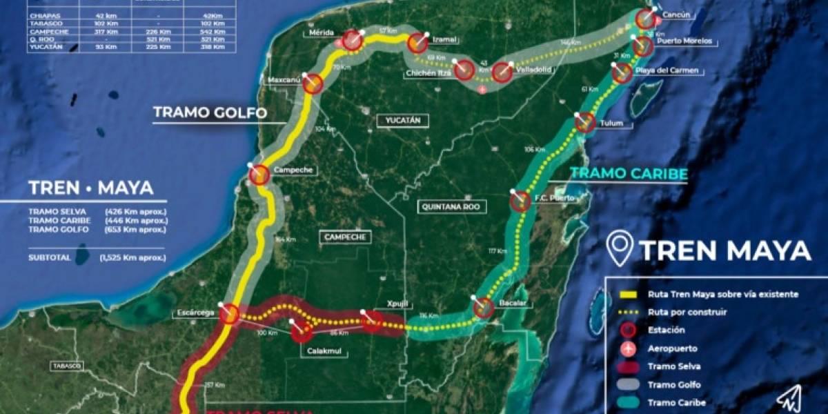 Interesa a China la construcción del Tren Maya