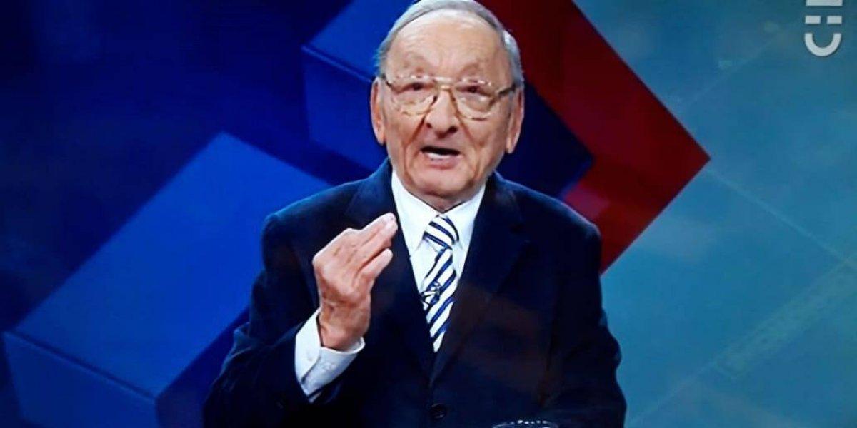 Es toda una institución de la TV chilena: Javier Miranda presentó noticiero de Chilevision este domingo