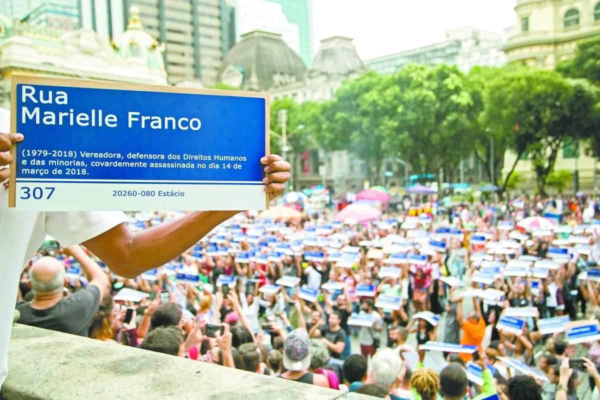 Marielle Franco placas