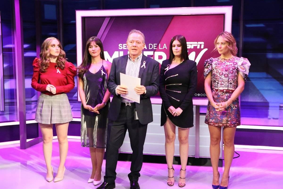 Semana de la mujer por ESPN Ángel Cruz