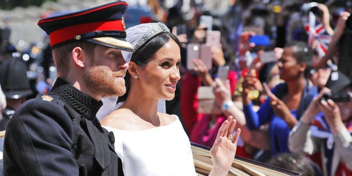 Bebé de Harry y Meghan séptimo en línea de sucesión