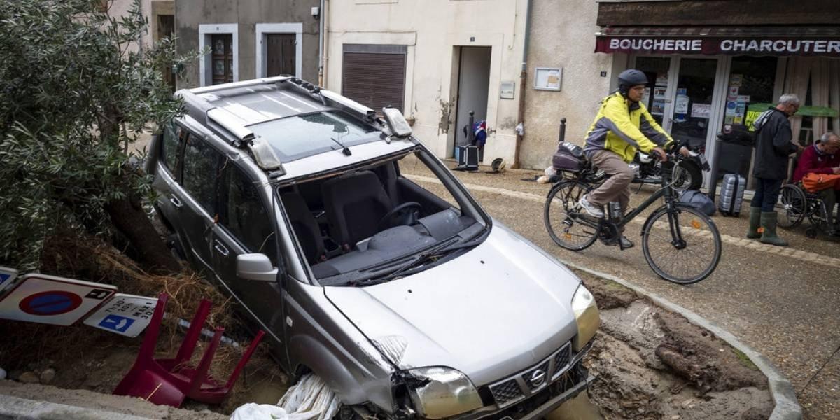 Continúan los estragos de la tormenta Leslie en Europa