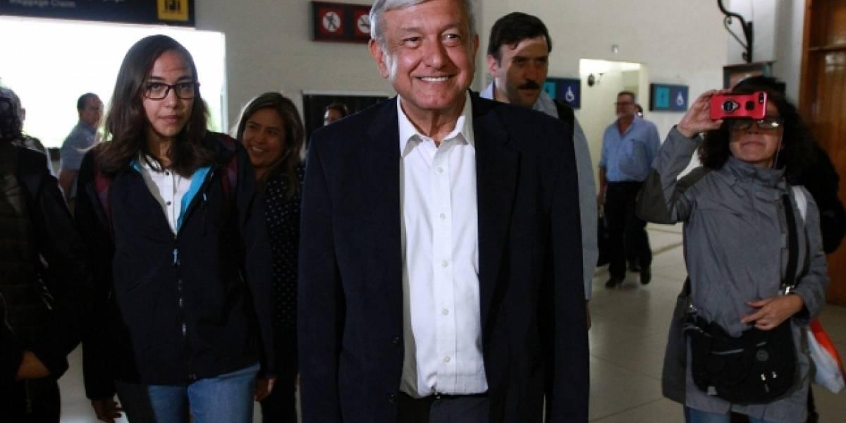 NAICM será decidido por el pueblo, no por cúpulas del poder: AMLO