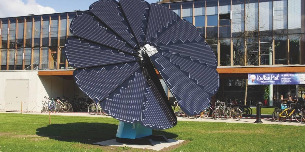 Este girasol robótico llenará tu hogar de energía