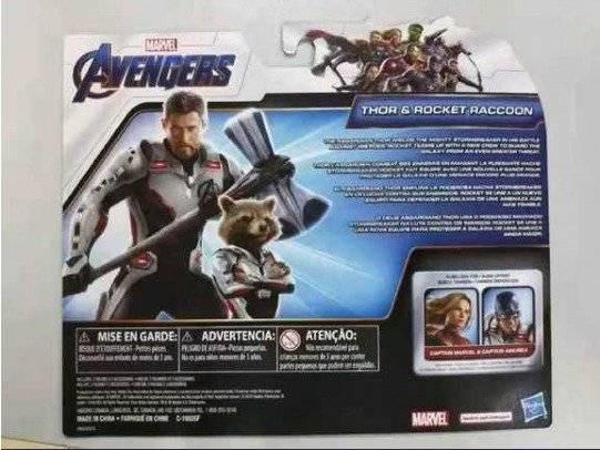 Thor y Rocket Raccoon con nuevos trajes en figuras de acción