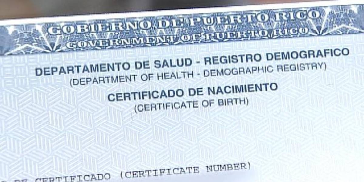 Boricuas residentes en Florida podrán obtener sus certificados de nacimiento, matrimonio y defunción