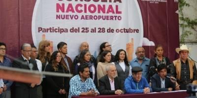 Consulta sobre el nuevo aeropuerto
