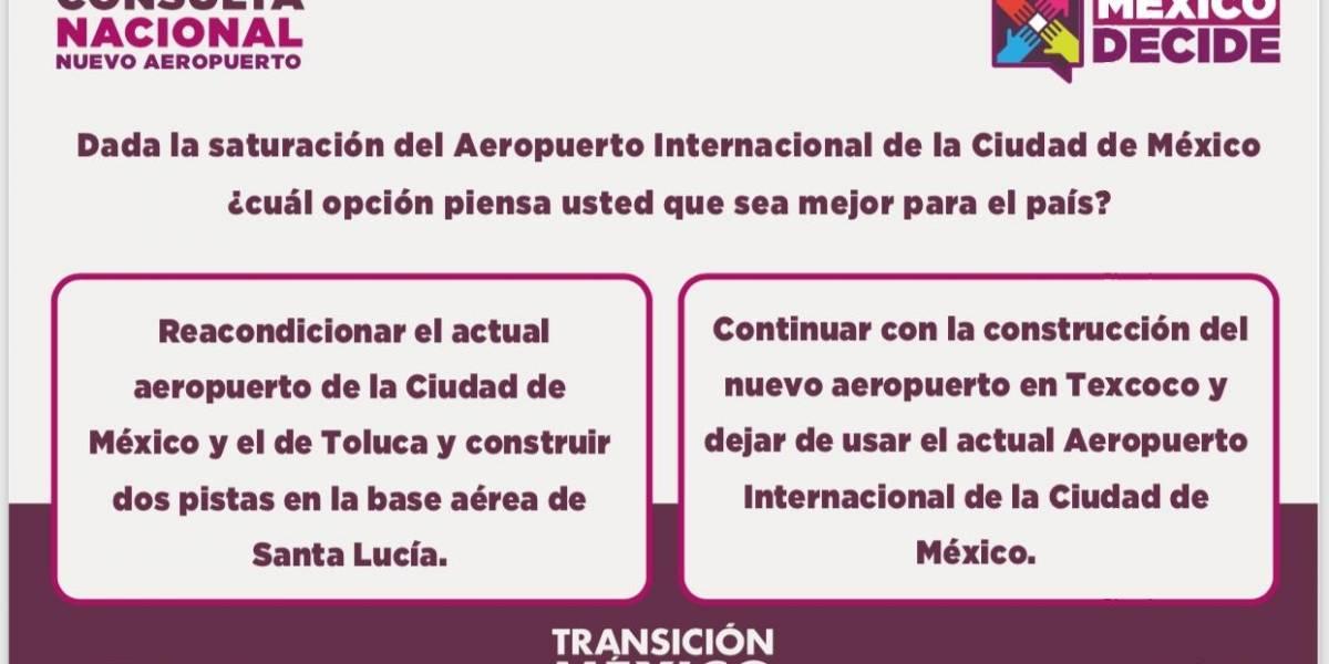 ¿Cómo votar en la consulta del Nuevo Aeropuerto?