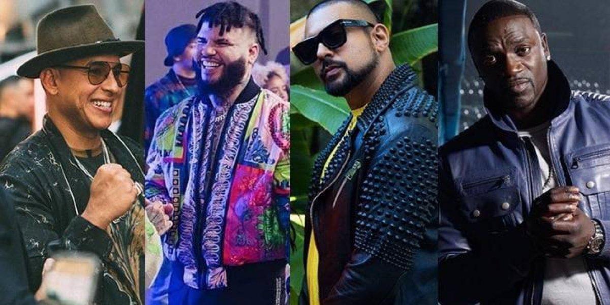 "Daddy Yankee, Farruko, Sean Paul y Akon se unen para cantar ""Inolvidable"""