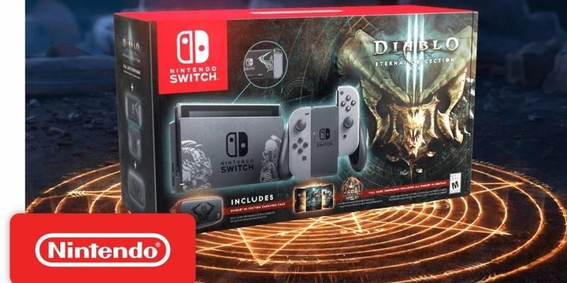 Nintendo anuncia Switch edición especial de Diablo III