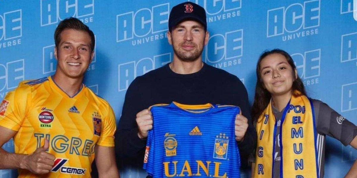 Capitán América, el nuevo seguidor de Tigres de la UANL