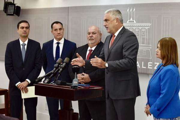 Los presidentes legislativos dijeron haber llegado a un acuerdo para aprobar la reforma la próxima semana. Suministrada