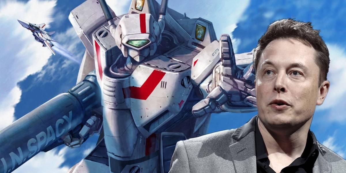 Elon Musk habla de construir un robot de combate luego de ver anime