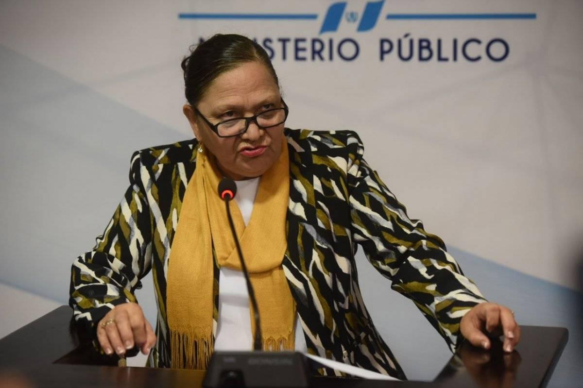 fiscal general Consuelo Porras señala vicios en nombramientos de fiscales regionales