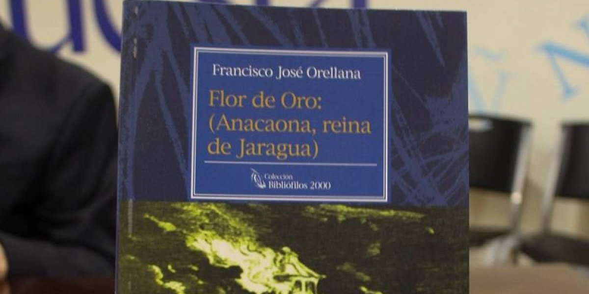 """Bernardo Vega presentó novela """"Flor de Oro"""" escrita hace 158 años y re-editada por los Bibliófilos"""