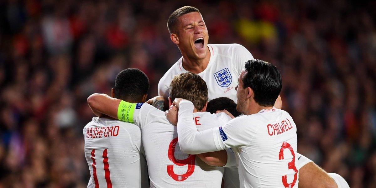 Inglaterra golpeó a España y le quitó el invicto a Luis Enrique en la Liga de Naciones