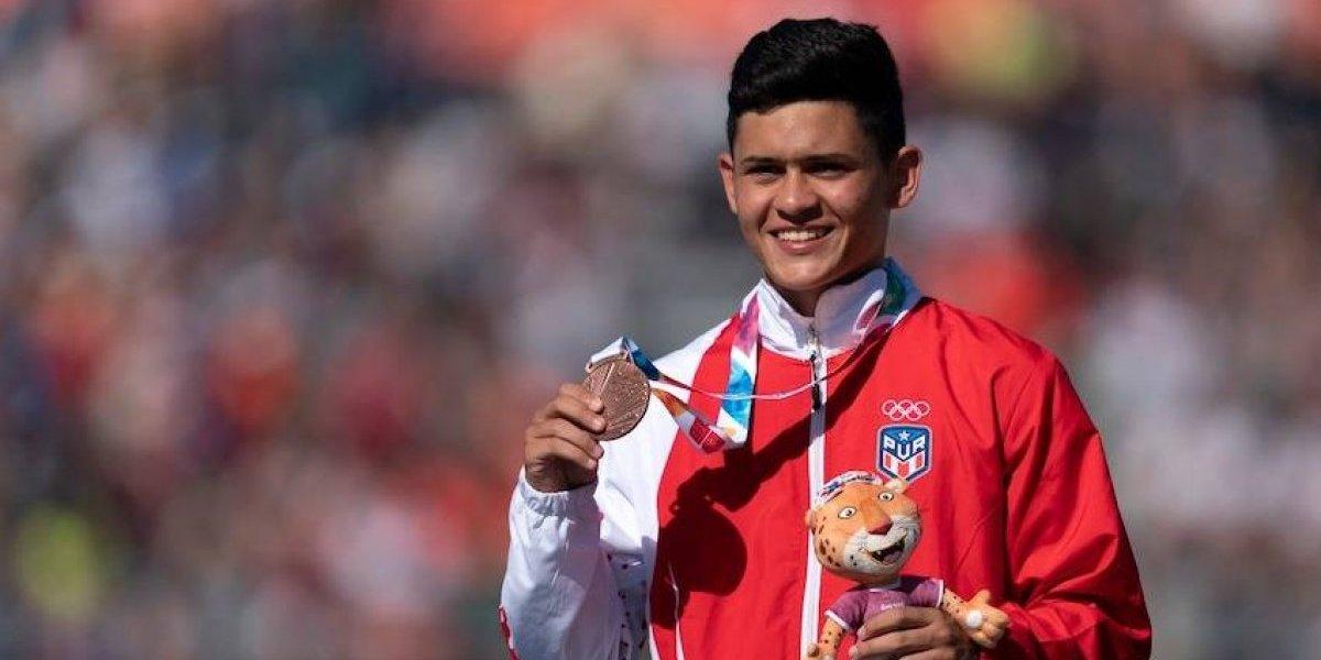 Jan Moreu le da la segunda medalla a Puerto Rico en Buenos Aires 2018