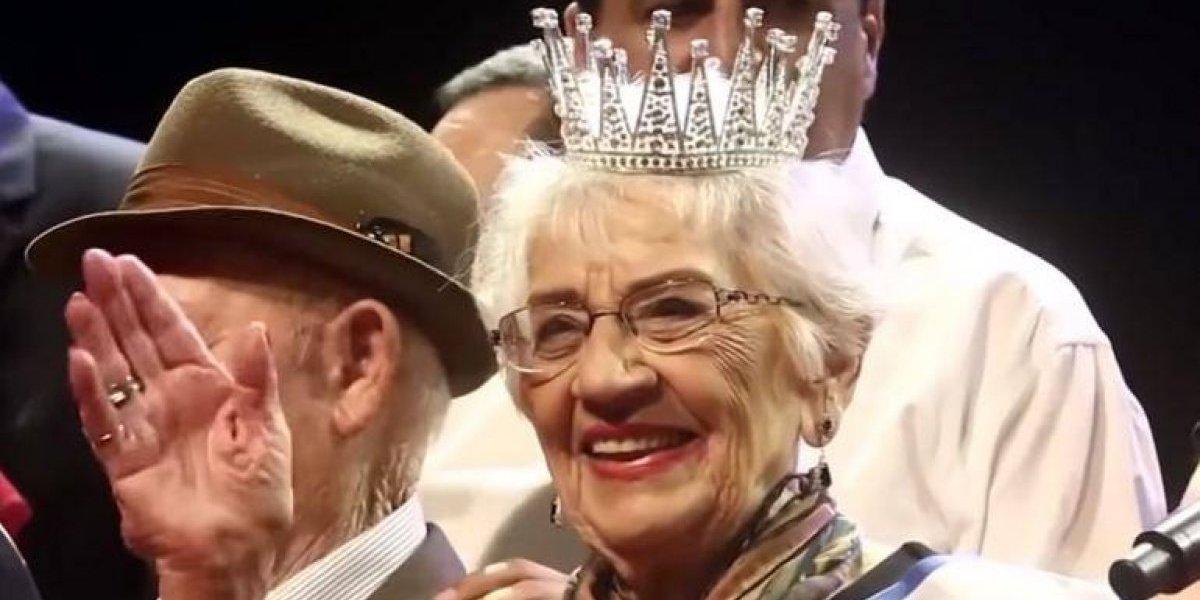 """""""Miss Holocausto"""": el controversial concurso de belleza israelí coronó a una sobreviviente de 93 años"""