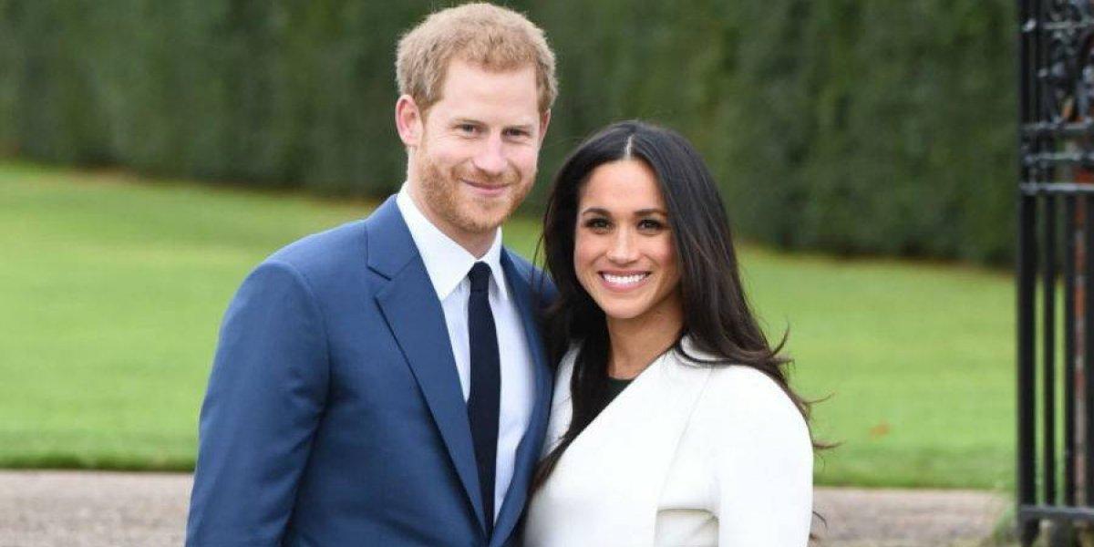 Meghan Markle y el Príncipe Harry comparten foto inédita de su boda