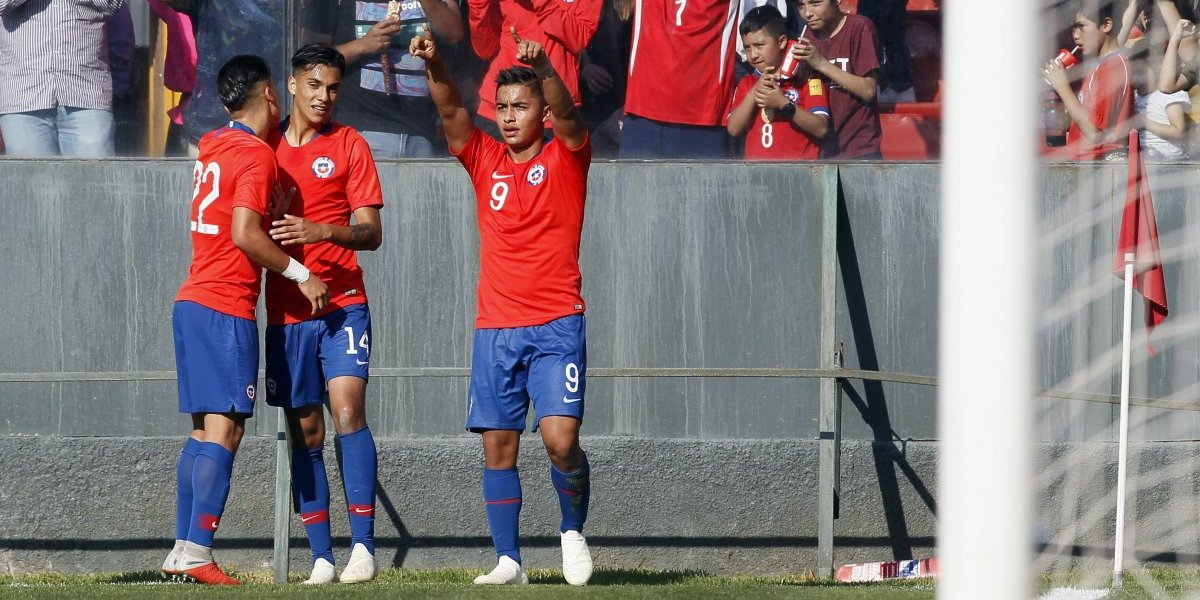 Así vivimos el amistoso de la Roja Sub 20 ante Brasil en Santa Laura