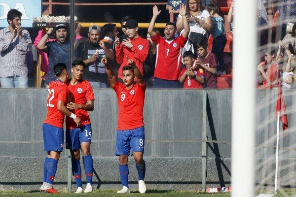 Chile está haciendo un buen partido / imagen: Photosport