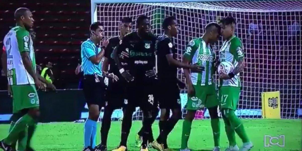 Jugadores del Atlético Nacional protagonizan altercado ¡entre ellos mismos!