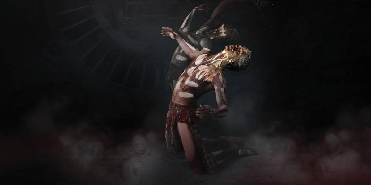 Isaac Hernández baila en Mictlán para celebrar el Día de Muertos