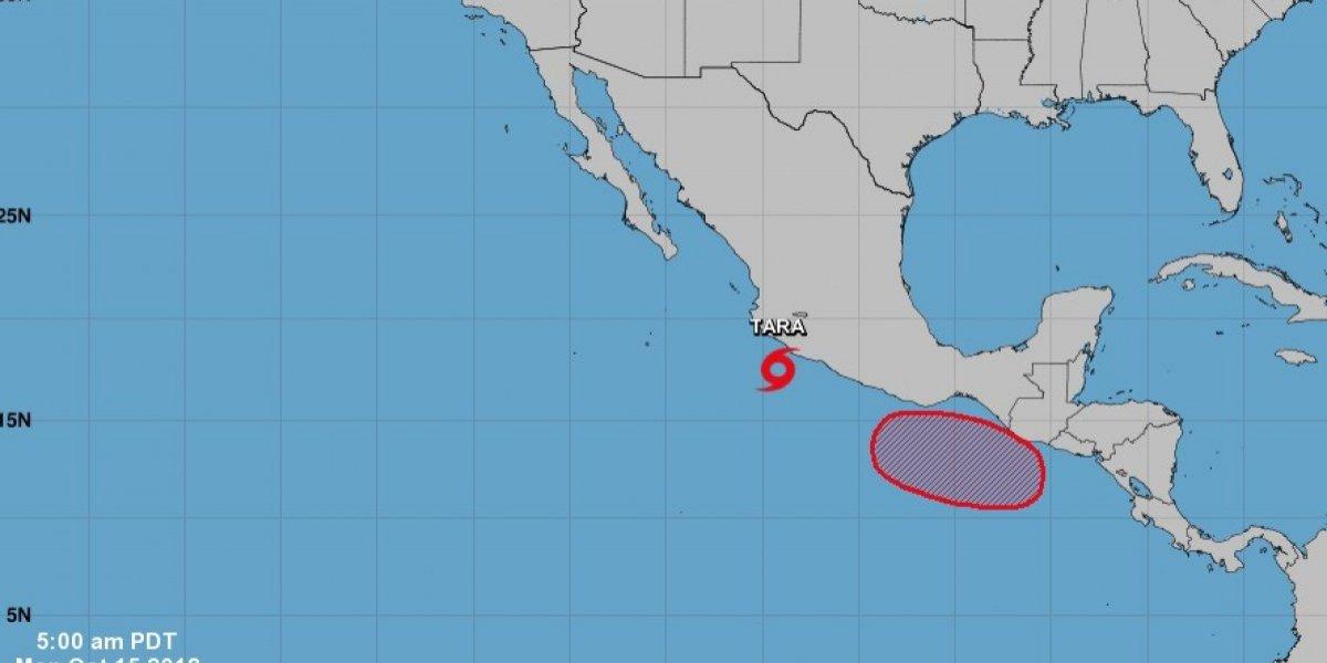 Tormenta tropical Tara provoca lluvias en la costa mexicana