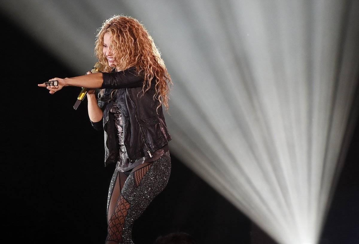 "Shakira inicia en México su gira latinoamericana de ""El Dorado World Tour"". EFE"